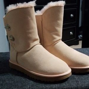 UGG Pink Boots BNWT Size 8